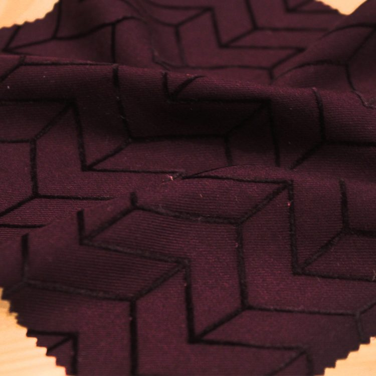 tissu viscose violet